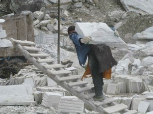 quarry worker