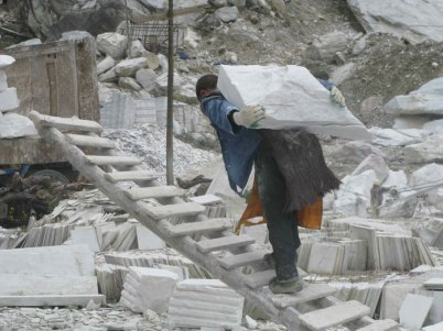 quarry worker